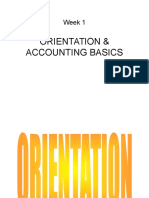 Week 01 Orientation Accounting Basics