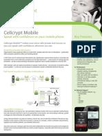 Cellcrypt Mobile Datasheet A4 V3.3