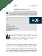 Cuevas Alvarez Efren La Narrativa Audiovisual Como Metodo de Analisis