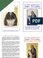 Saint Stylianos of Paphlagonia - Paraclis