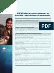 standards for bc educators  1