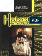 Star Trek TNG RPG - Holodeck Adventures