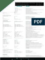 Lista de Atajos Adobe