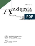 FISS, O. Mision Democratica de La Universidad