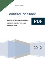 Unidad 4 - Control de Stock Modif