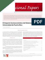 Impacto Económico de la UPR Alameda Y Gonzalez  OP-ET