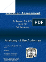 Abdomen Assessment