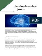 Manteniendo El Cerebro Joven - Dieb Maloof