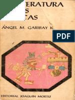 3. La Literatura de Los Aztecas - Ángel María Garibay