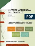 Impacto Ambiental Del Cemento