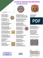 Cordel-Convite Dia Nacional da Matematica 2017 Profª Mara Matemática SESC Cidadania Goiânia-GO