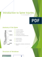 Introduction to Spine Injuries