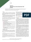 C29 Standard Test Method for Flexural Strength of Concrete