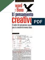 Conceptos - De Bono
