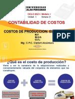 Costos de Produccion Elementos