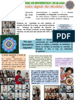 Dia Nacional da Matematica 2017 - Por que Geometria Sagrada? Profª Mara Sesc Cidadania Goiania-GO