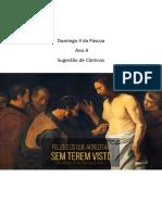 Domingo II Da Páscoa - Ano A