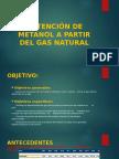 Obtención de Metanol a Partir Del Gas Natural