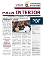 Semanario Edición Especial  / País Interior 25-05-2017