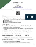guy becker resume