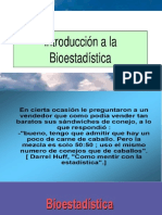 introduccion bioestadistica
