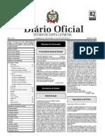 Diario Oficial de SC
