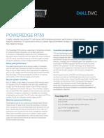 Dell PowerEdge R730 Spec Sheet