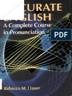 Accurate English a Complete Course in Pronunciation