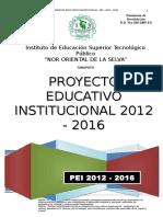 PEI 2012-2016 IESTP NOS Del Ultimo Taller