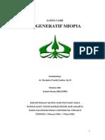 Long Case Degenerasi Miopia Fix