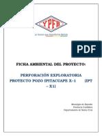 FA Perforacion Exploratoria Pozo Ipitacuape X1 (IPT-X1)