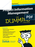 {6172959d e088 4ab0 a767 Fb01c17c60ba} Project Information Management for Dummies Deltek Special Edition