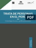 MINJUS. Trata de Personas en El Perú- Lima, MINJUS, 2017