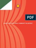 ASEAN Socio-Cultural Blueprint