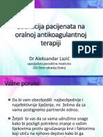 Edukacija Pacijenata Na Oralnoj Antikoagulantnoj Terapiji 21.11.2013 (1)