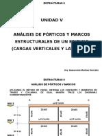 Análisis Marcos Cargas Verticales Viento y Sismo Ejemplos Mayo17