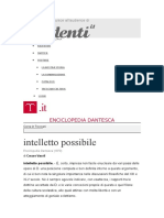 Intelletto Possibile Enciclopedia Dantesca