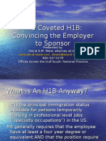The Coveted H1B