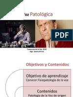 Patología de La Voz 1