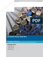 Hot Rolled Round Steel Bars