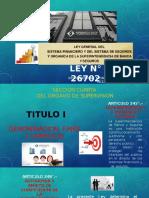 Ley Del Sistema Financiero..Exponer