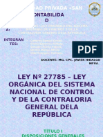 Diapositiva Ley Nº 27785