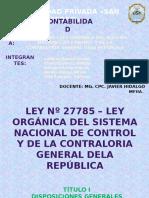 Diapositiva Ley Nº 27785
