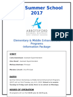 ss- information package 2017