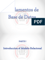Fundamentos Base de Datos - Parte I