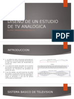 Diseño de Un Estudio de TV Analogico