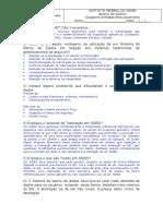 Sbd_e01 - Introdução a Banco de Dados - Com Respostas