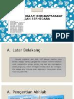 Al Islam - Akhlak Bermasyarakat Bernegara