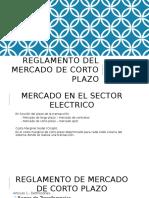 Grupo 8 - Reglamento Del Mercado de Corto Plazo