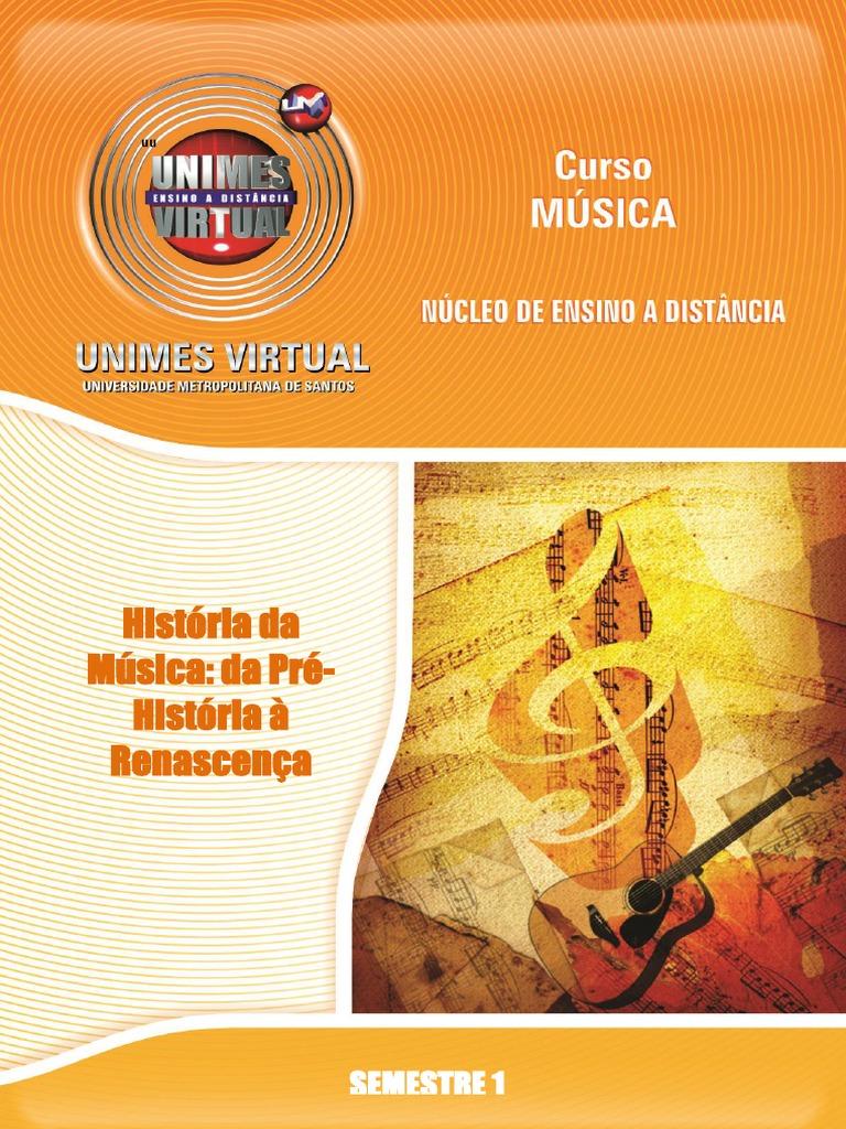APOSTILA 728 História da Música  da Pré-História à Renascença.pdf bbc329ceb826d